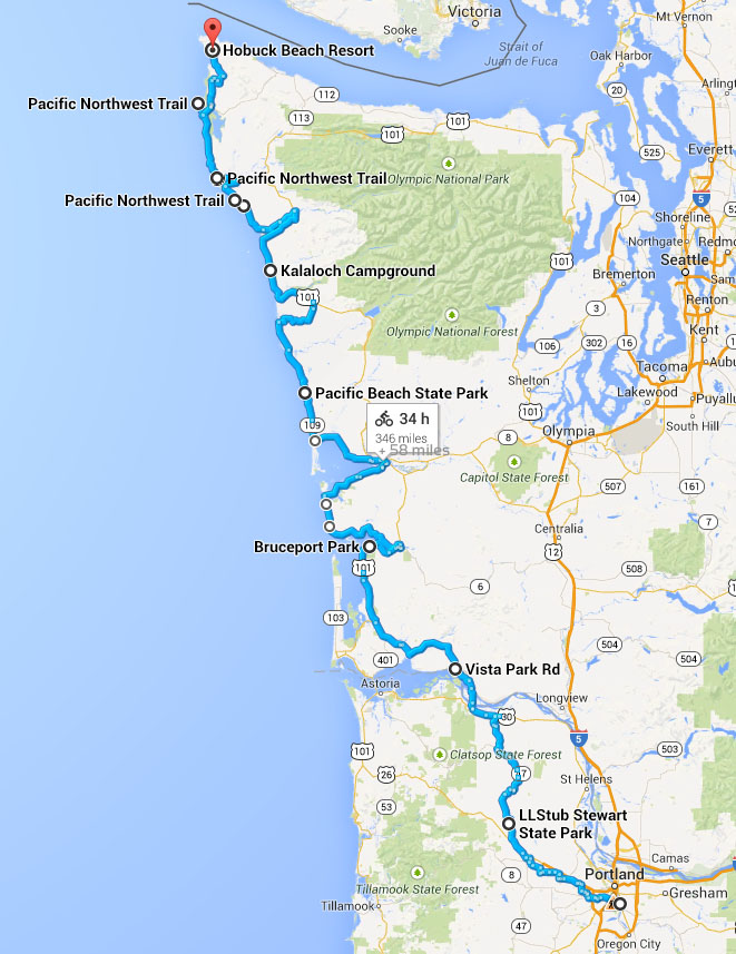 Pacific Northwest Trail - Epic Bike Route