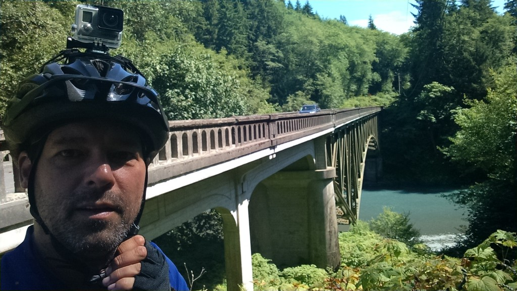 Hoh River crossing at the 101