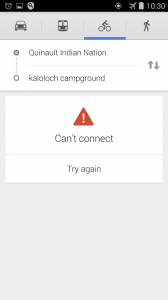 Can't Connect Navigator